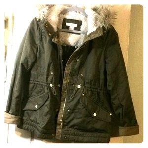 H&M womens size 8 coat